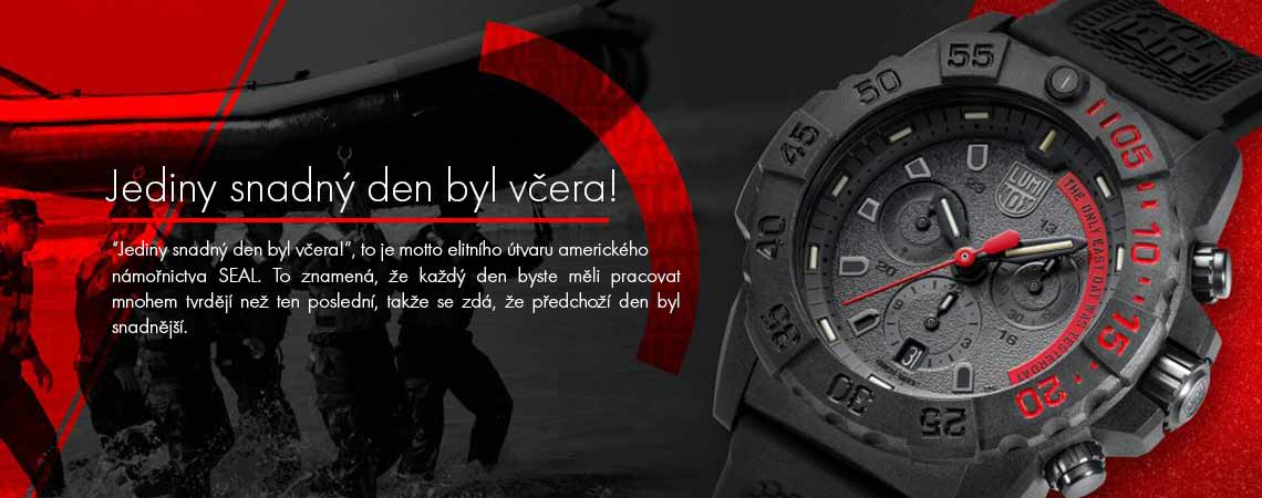 Luminox SEAL Motto